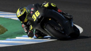 Joan Mir, en Jerez con la Kalex de Moto2.