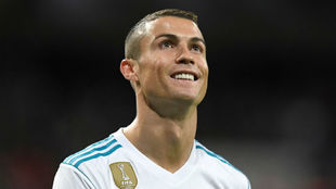 Cristiano Ronaldo, durante el partido ante Las Palmas.