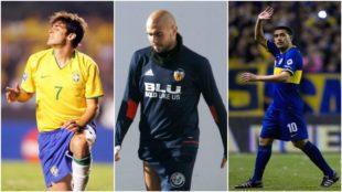 Riquelme, Kaká... y otros futbolistas que jugaron con el menisco roto como Zaza