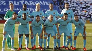 El uno a uno del Barça: Un poco de Messi y mucho de Ter Stegen y 'Busi'