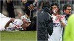 A Ramos ya le rompieron la nariz hace diez años... y jugó tres meses sin ser operado