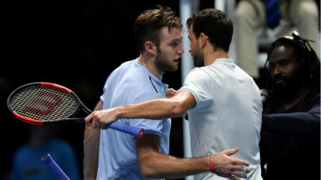 Dimitrov snaps Sock jinx, rises to world number three