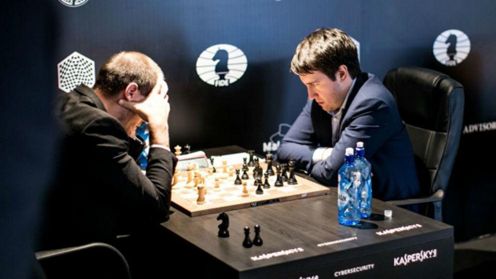 Vallejo durante la partida en la segunda ronda del Grand Prix de la...