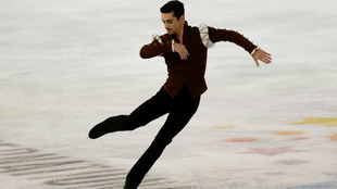 Javier Fernández en un momento de su actuación
