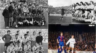 El Barcelona de Samitier, el de Kubala y el Dream Team, la Real de...