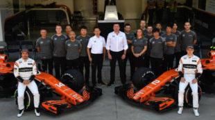 Foto de equipo McLaren en Interlagos
