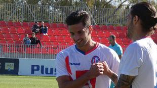 Carlitos y Juan Cruz celebran la victoria