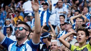 Aficionados del Espanyol
