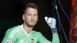 Neto Murara, portero del Valencia.