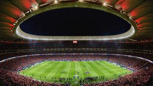 El Wanda Metropolitano en el día de su inauguración.