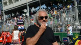 Flavio Briatore, exdirector de equipo de Benneton y Renault