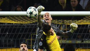 Nauzet Pérez, jugador del Apoel de Nicosia en un encuentro contra el...