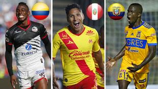 Quiñones, Ruidiaz y Valencia, cada uno con nueve goles en el certamen
