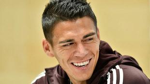 Héctor Moreno destaca la exigencia de un club como la Roma
