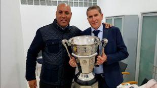Juan Carlos Garrido tras ganar la Copa del Trono