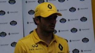 Carlos Sainz, en el pasado GP de Brasil