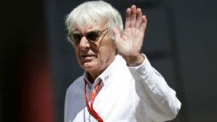 Bernie Ecclestone, ex director ejecutivo de la F1