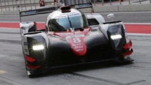 El Toyota LMP1, en los test de Bahréin