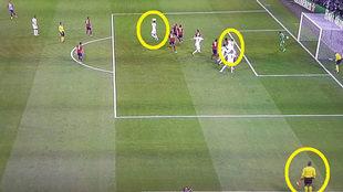 El gol del Madrid en la final de Champions de Milán ante el...