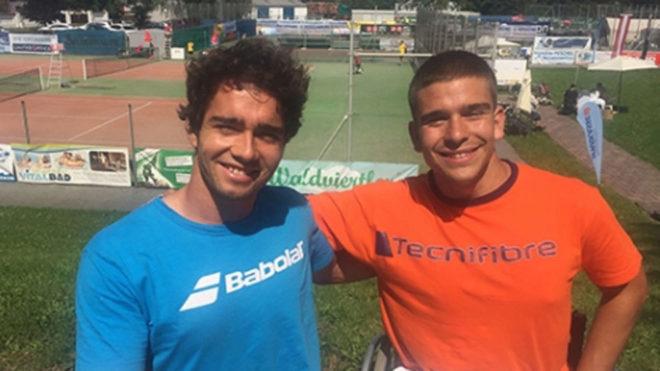 Dani Caverzaschi y Martín de la Puente.