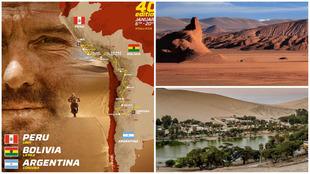 Cartel del Rally Dakar 2018 (40ª edición)