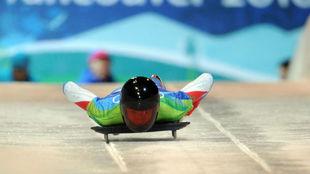 Aleksandr Tretiakov, en los Juegos de Vancouver.