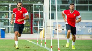 Verza y Trujillo, en la temporada 14/15.