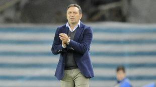 Eusebio, entrenador de la Real Sociedad.