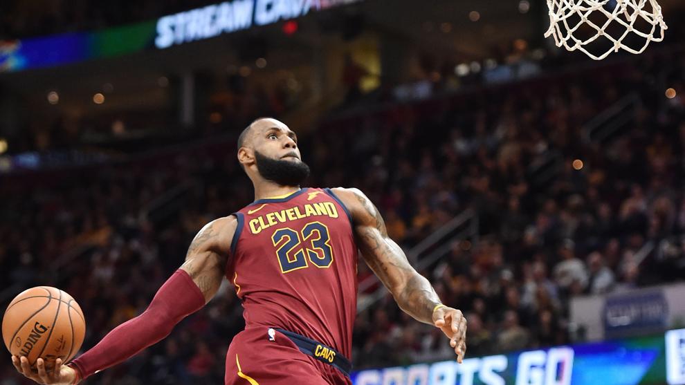 NBA: El error más garrafal de LeBron James, el rey del mate en la historia de la NBA | Marca.com