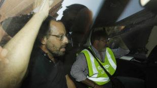 Rosell, nada m�s ser detenido el pasado 23 de mayo.