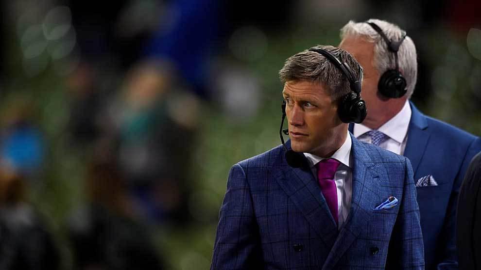 Ronan O'Gara, en el Aviva Stadium de Dublin antes del reciente...