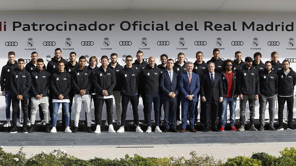 Plantilla del Real Madrid.