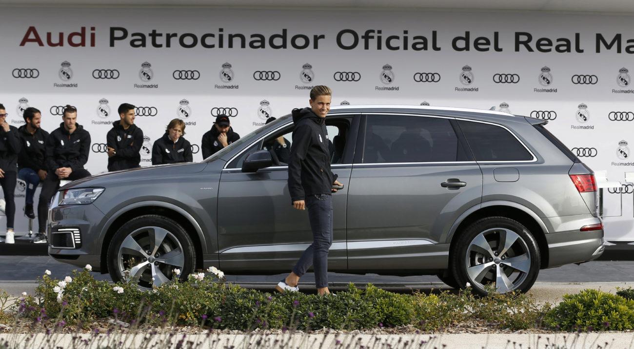 Llorente / el coche del canterano es un audi q7... | MARCA.com