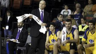 Javier Imbroda en un encuentro durante su etapa como entrenador