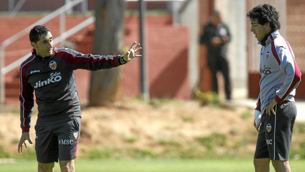 Ernesto Valverde, a mentor for Parejo at Valencia   MARCA in English