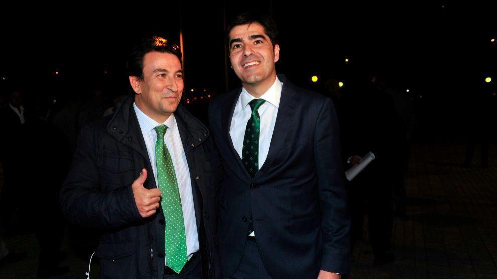 Catalán y Haro, a su llegada