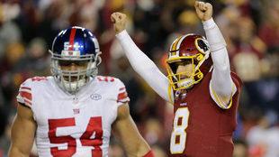 Redskins celebraron un feliz día de Acción de Gracias.