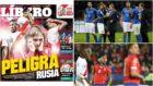 La portada del periódico Líbero y las selecciones que podrían...