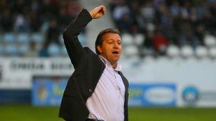 José Carlos Granero, durante un partido