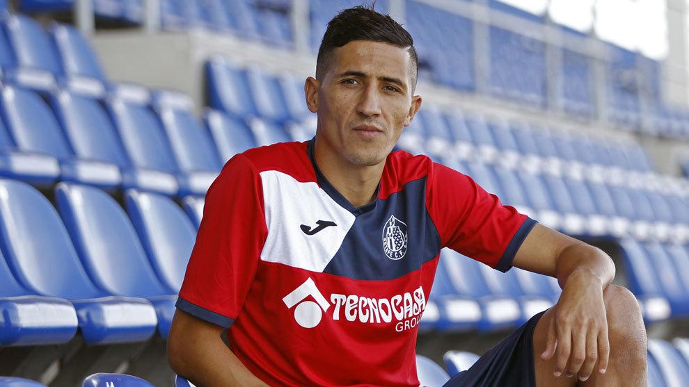Fajr, jugador del Getafe, en un reportaje para MARCA.
