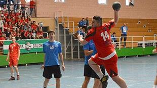 'Samu' Gómez durante un partido en 2014 en División de...