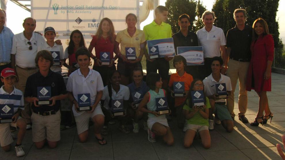 Foto de los ganadores de la edición de 2017.