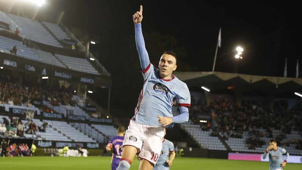 Aspas on the spot for Celta