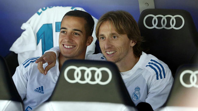 Modric rested for Malaga clash