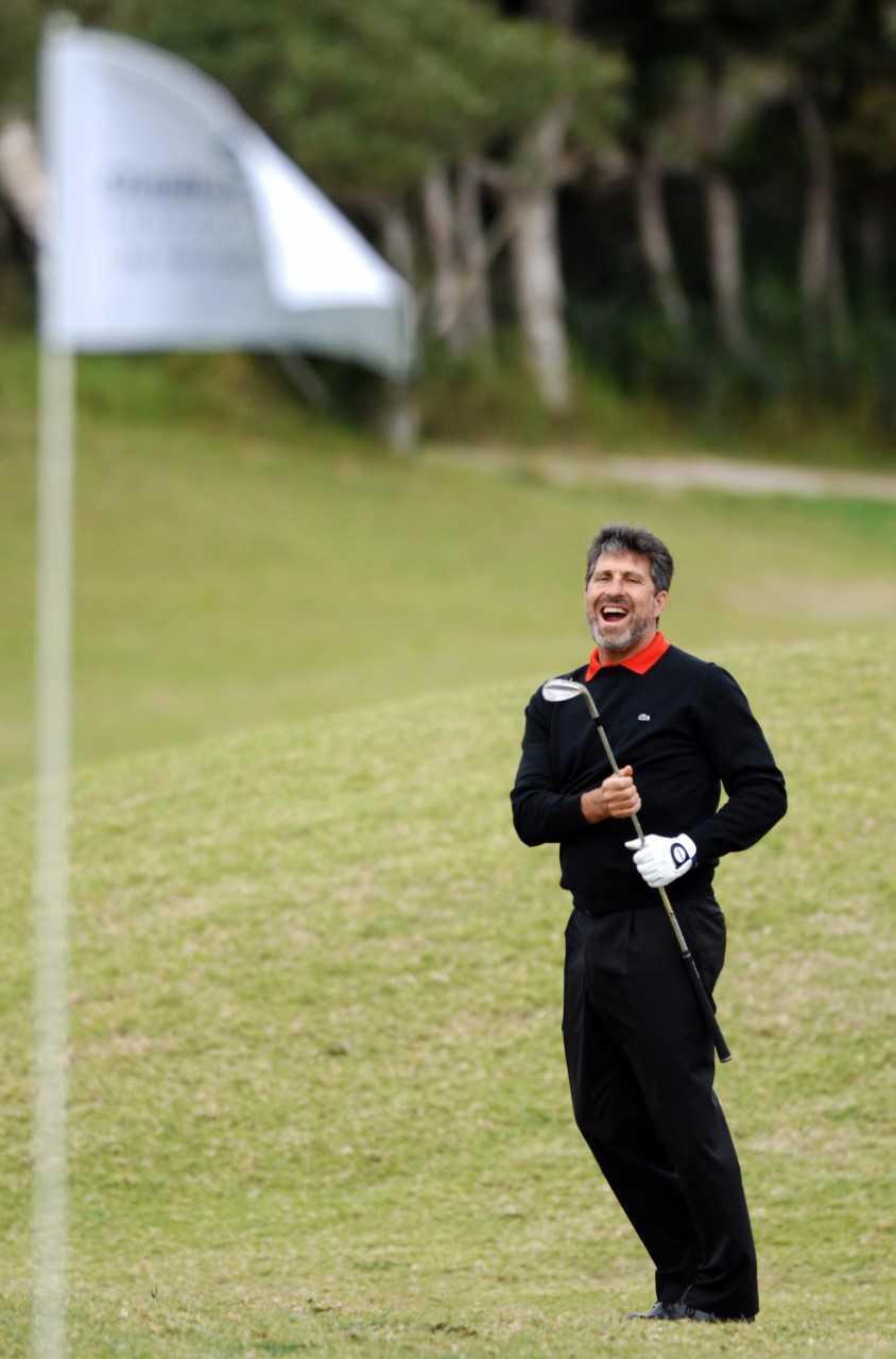 José María Olazábal, en el Pula Golf.
