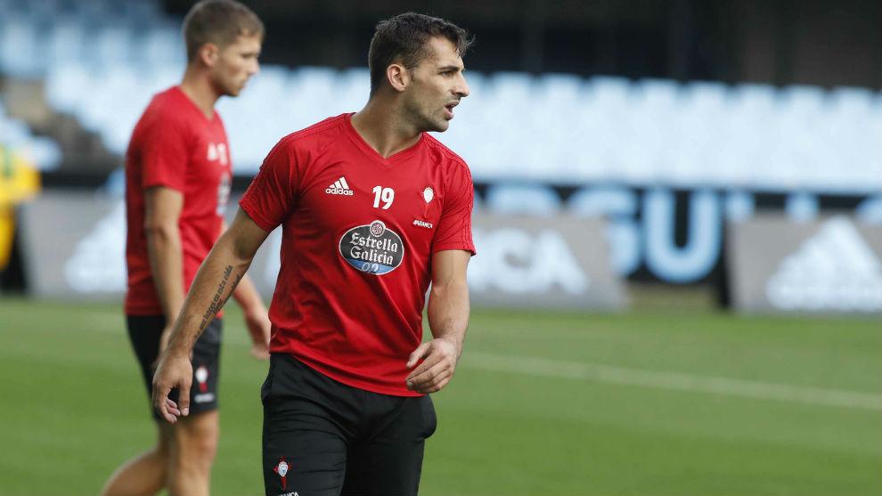 Jonny durante un entrenamiento