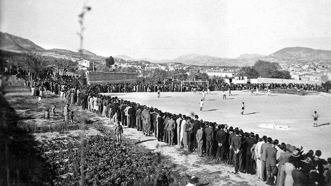 El Collao, el todavía estadio del Alcoyano, en 1939