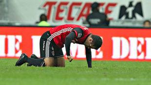 Márquez no oculta su frustración, tras su lesión ante Monterrey.