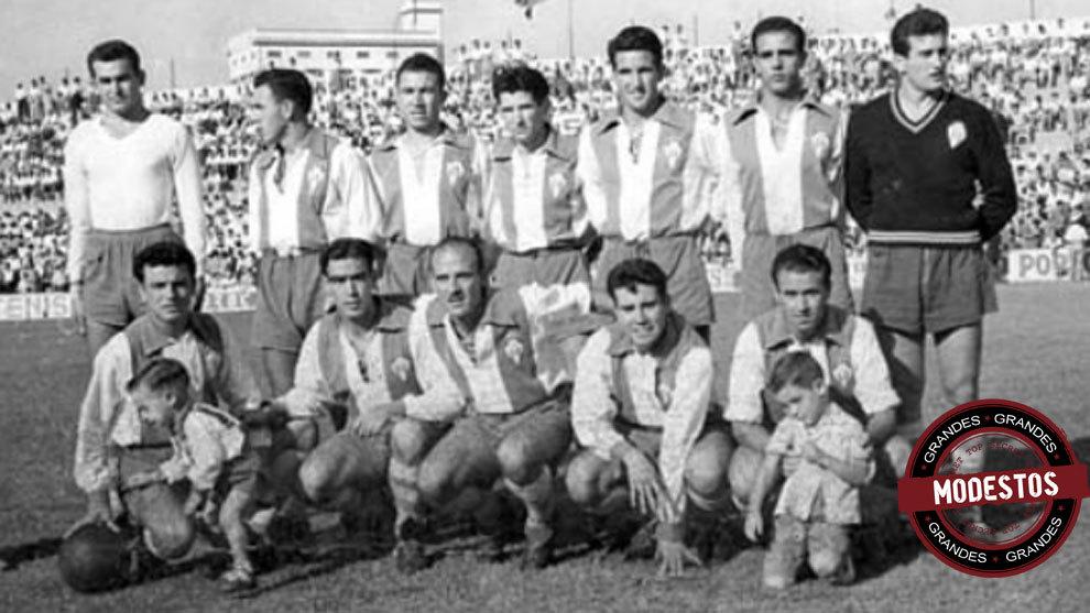 Alineación del Alcoyano en Primera división, en 1945