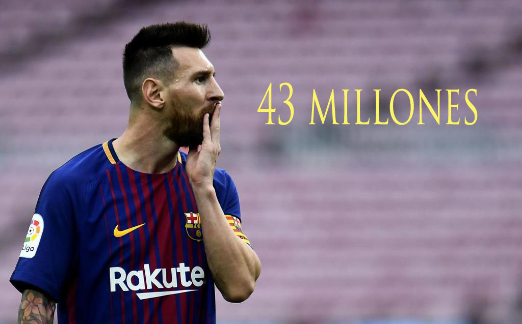 With his new contract, Lionel Messis wages top ¤30m with variables...